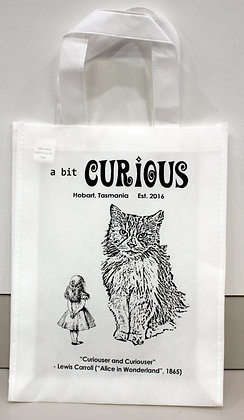 A Bit Curious Tote Bag