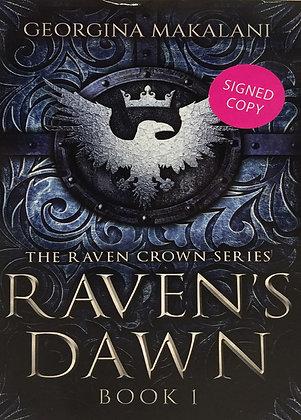 Georgina Makalani - The Raven Crown Series 1 - Raven's Dawn