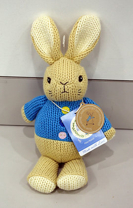Beatrix Potter - Peter Rabbit Made with Love Knit Toy
