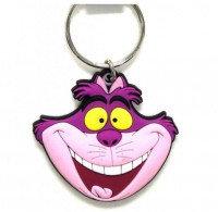 Disney Alice in Wonderland Soft Touch Cheshire Cat Keyring