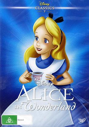Walt Disneys Alice in Wonderland DVD