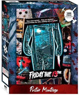 Friday the 13th Poster Montage 1000pc Puzzle