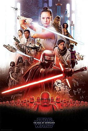 Star Wars Ep 9 Rise of Skywalker Wall Poster