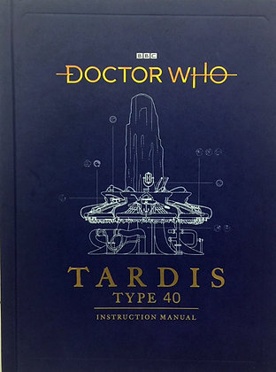 Dr Who - TARDIS Type 40 Manual Book