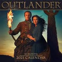 Outlander 2021 16 month Calendar