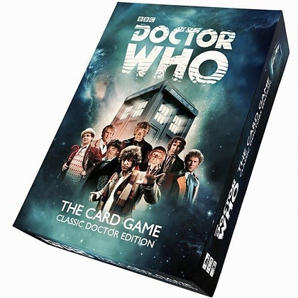 Dr Who The Card Game Classic Doctors Edition
