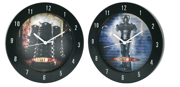 Doctor Who Lenticular Wall Clock