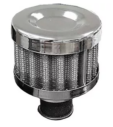 BREATHER FILTER - CHROME 9MM PERFORMANCE