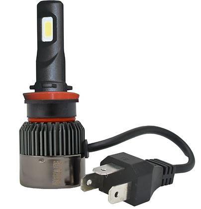 2pc H11 LED HEADLIGHT GLOBES in DISPLAY BOX