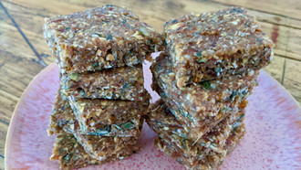 Delightably Healthy Date & Nut Bars