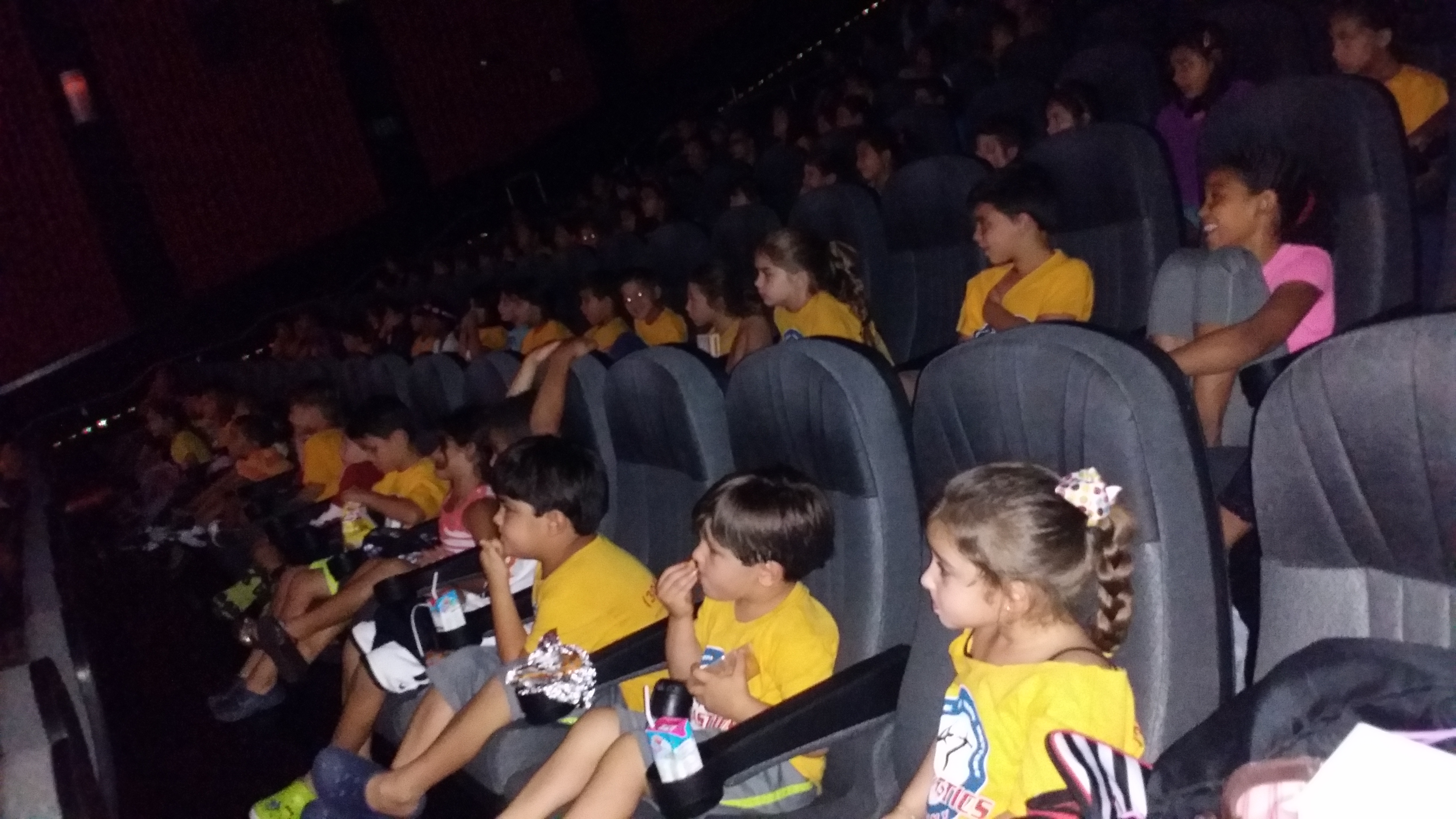 Movie time...it was good!