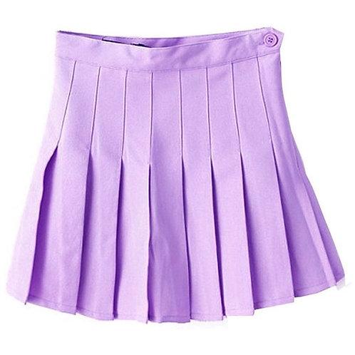 College Girl Skirt -Lavender