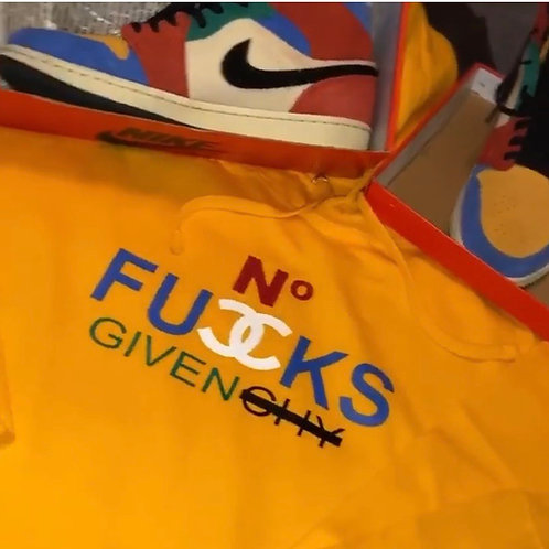 No F's  Givenchy (Custom Hoodie- Specialty Colors)
