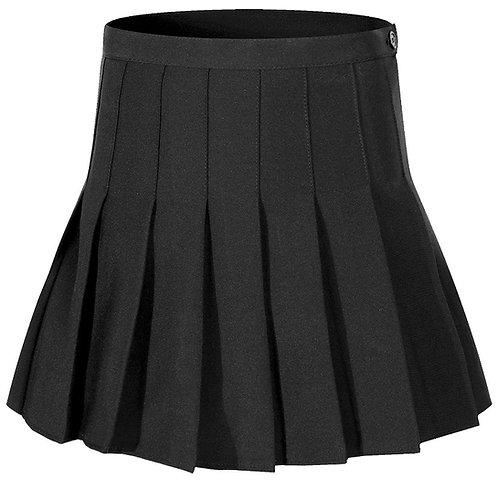 College Girl Skirt -Black