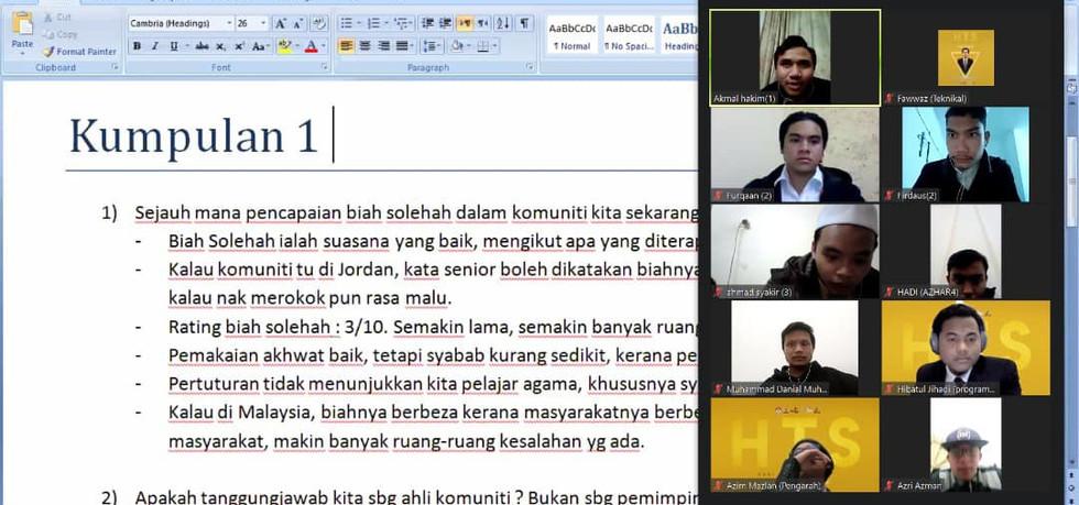 Wacana Ilmiah Mahasiswa Islami 2021