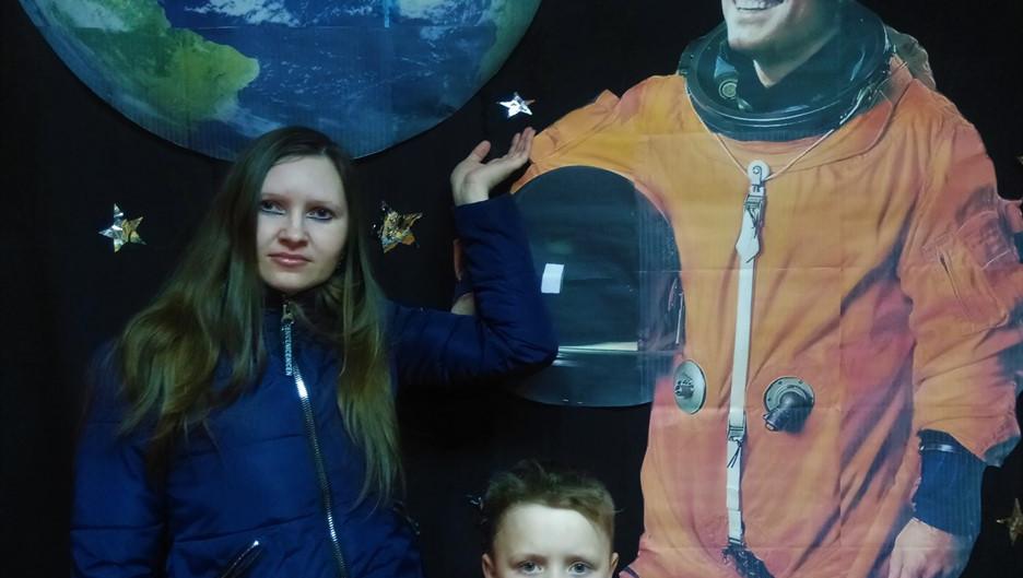 Фотозона с Гагариным