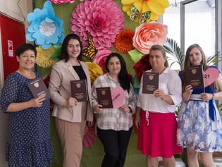 Библиотекарям были вручены дипломы с отличием