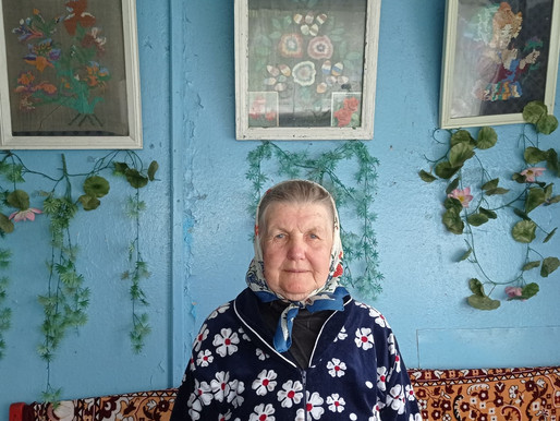 Свой 90-летний юбилей отметила жительница деревни Лужецкая Мария Михайловна Новикова