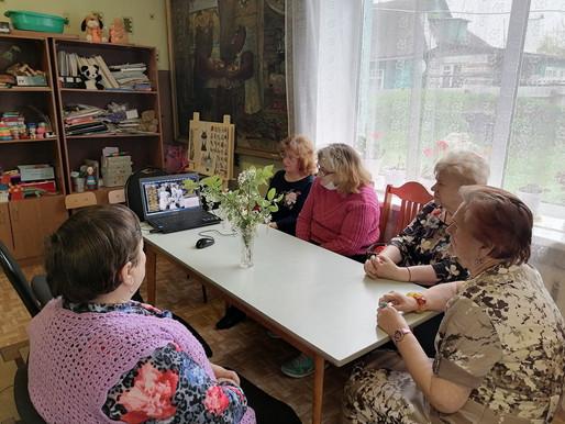 Заседание клуба «Калинки»