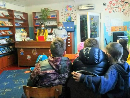 В Доновской сельской библиотеке прошел час истории