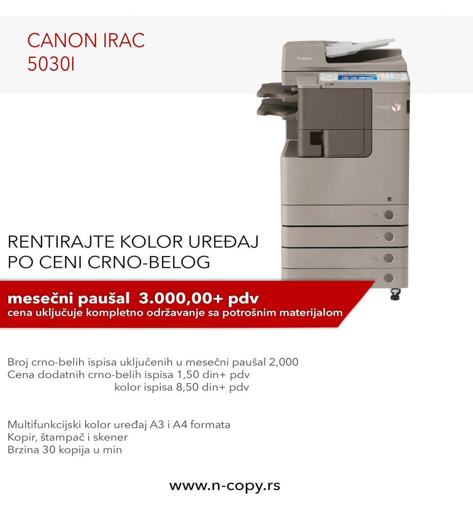 Copier, Canon iR AC 5030i, graphics