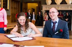 Huwelijk Len N - gemeentehuis ceremonie-