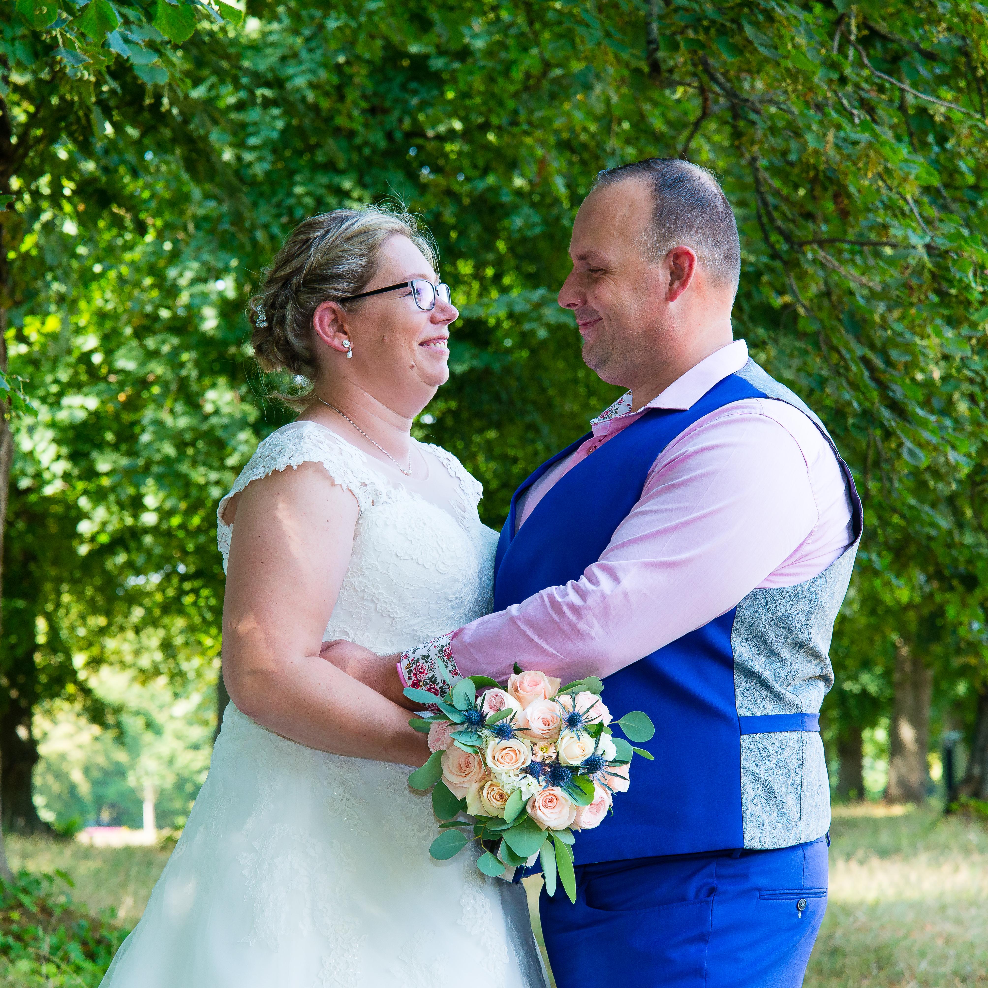 Huwelijk C en S - groepsfoto's-37
