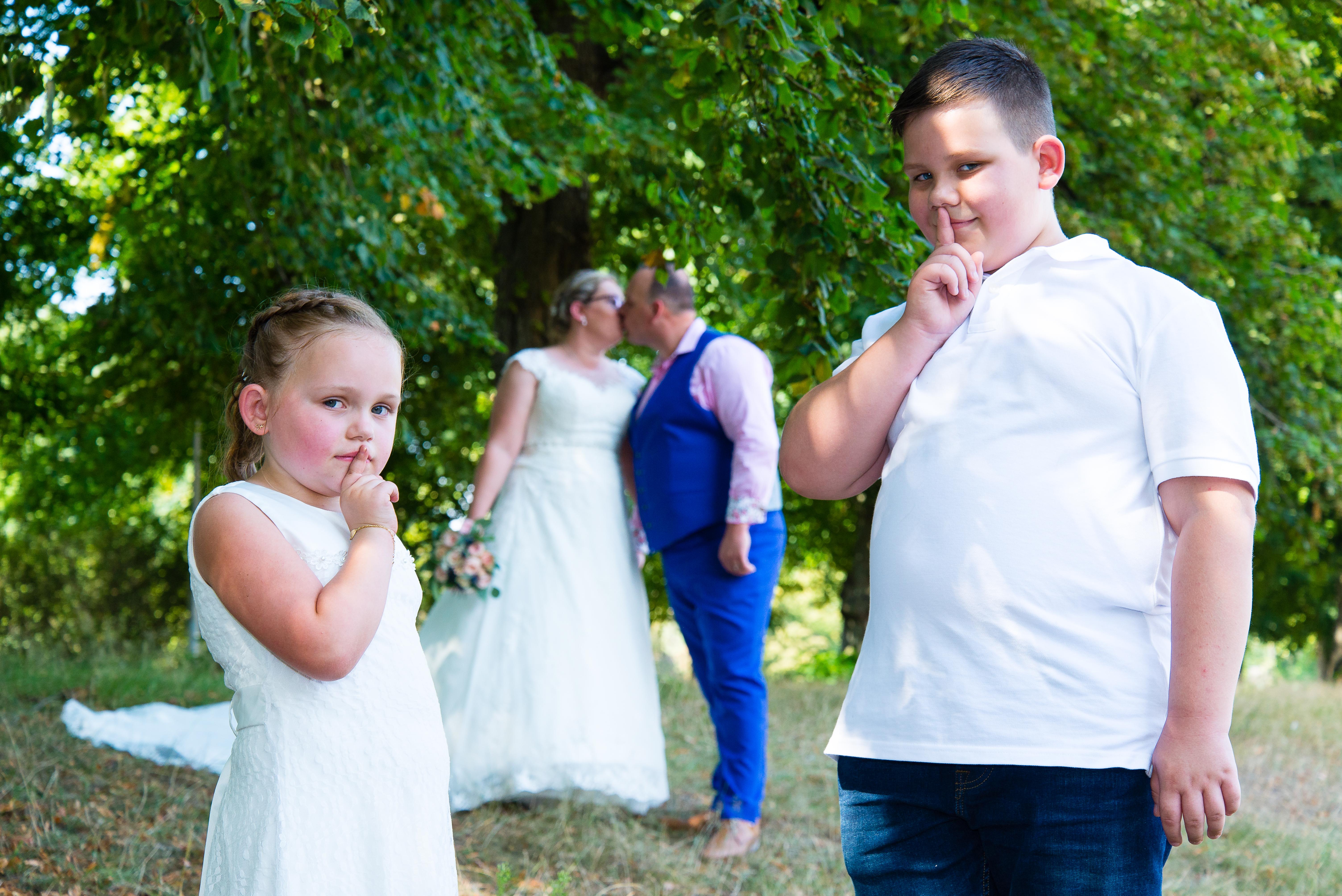 Huwelijk C en S - groepsfoto's-33