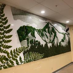Moss Mural