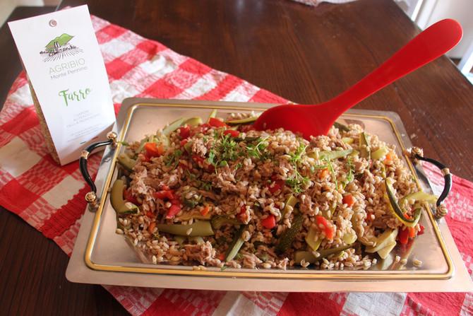 Combatti il caldo con un'insalata di farro Agribio Monte Pennino