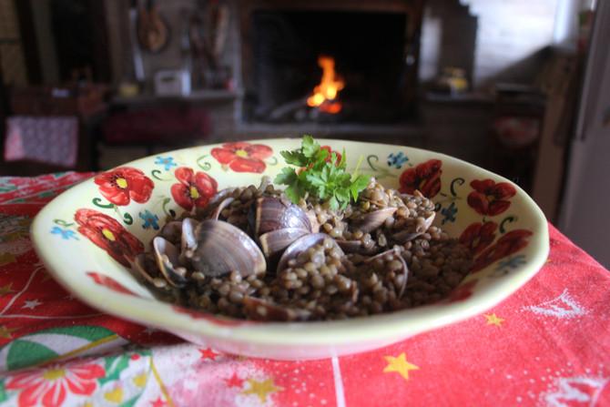 Ricetta di Capodanno: lenticchie e vongole