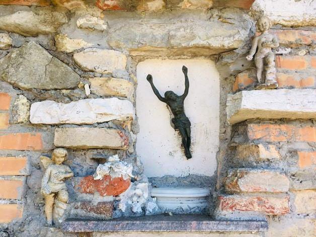 Crucifix villageois @Venise