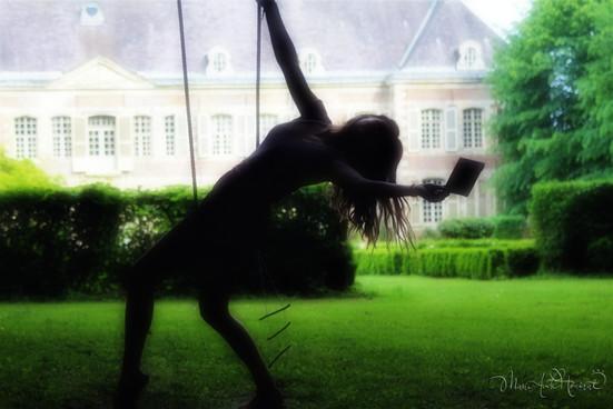Andrea flying
