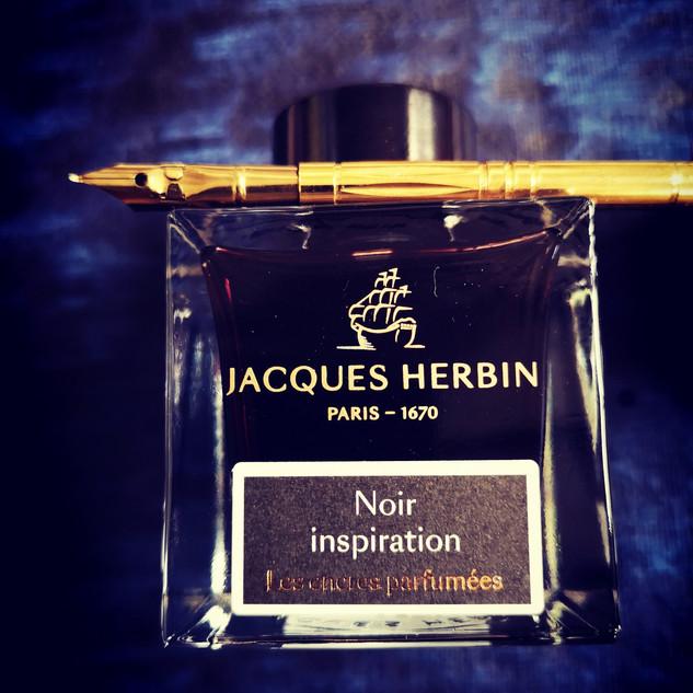 Plume et encre parfumée Herbin