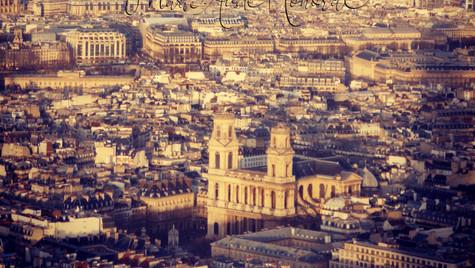 Paris from above_MAH