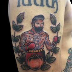 ボクサー トラディショナル タトゥー