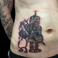 ロボット トラディショナル タトゥー