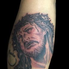 キリスト タトゥー
