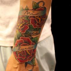 薔薇 トラディショナル タトゥー