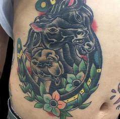 馬 ラクダ トラディショナル タトゥー