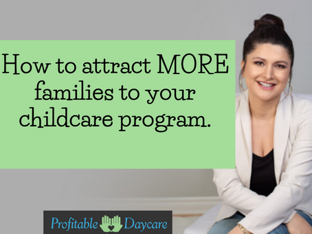 How to attract MORE families into your program.