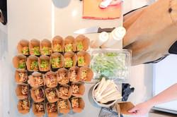 Chicken Karrage Boxes ready to go!