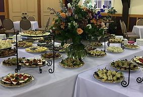 Tea sandwiches and sweets Celebration of life
