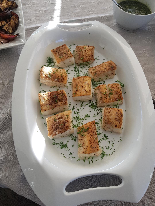 Halibut - buffet style