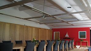 회의실 사무실 천덕트 패브릭덕트 섬유덕트 에이디산업