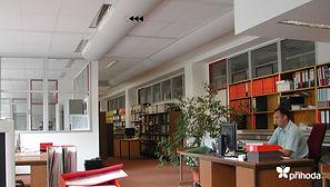 사무실 천덕트 패브릭덕트 섬유덕트 에이디산업