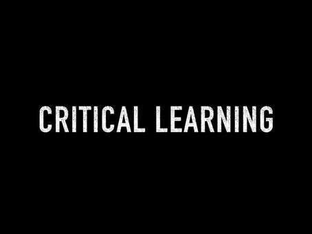 Critical Learning