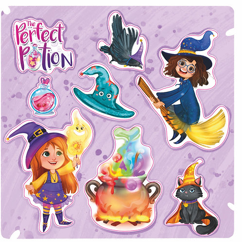 The Perfect Potion Sticker Sheet