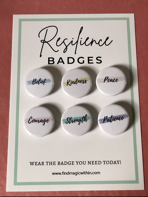 Resilience Badges Set 2