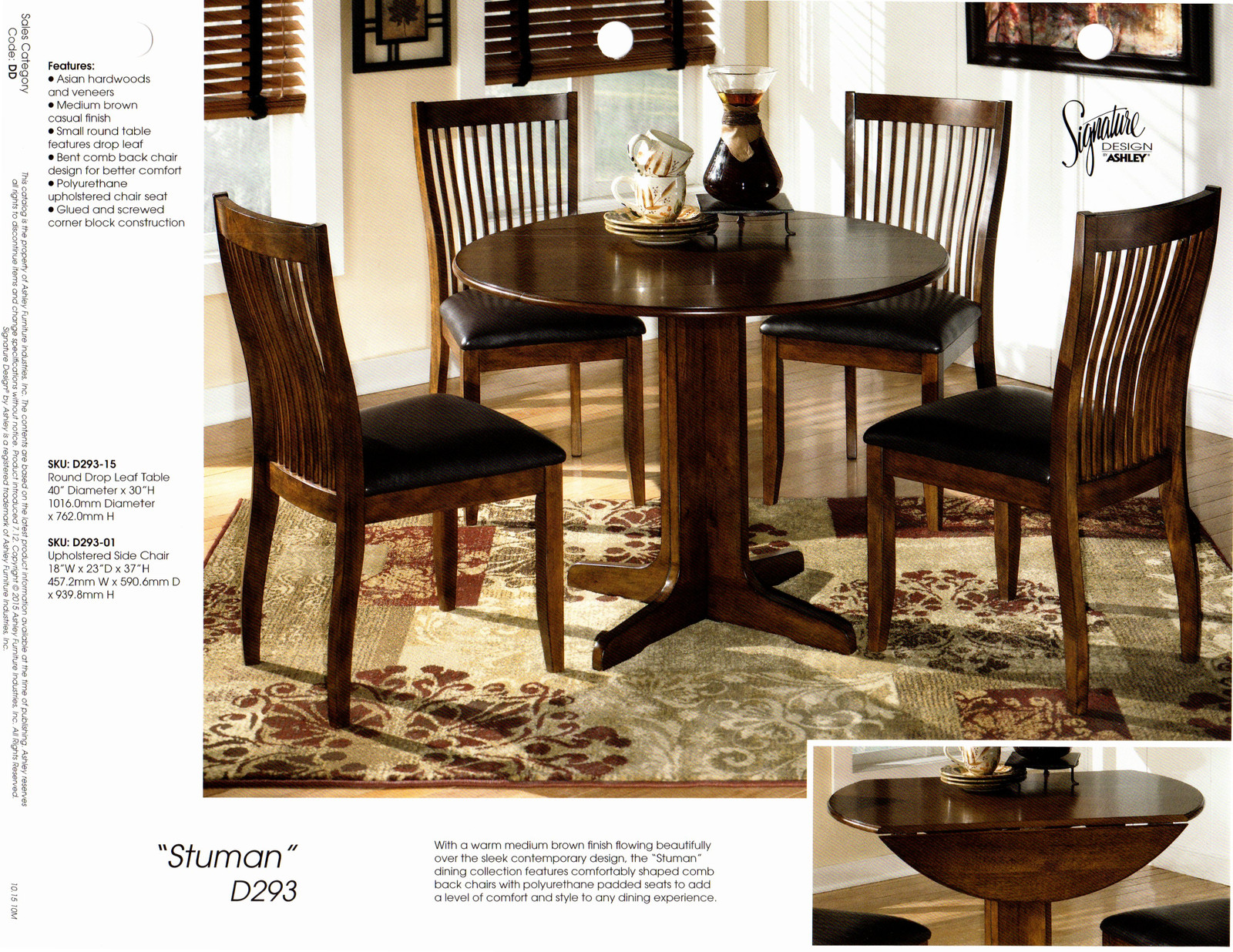 Knechts interiors ashley dining sets connersville location workwithnaturefo